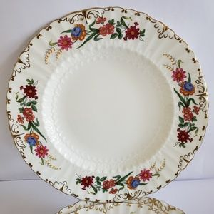Royal crown derby Accents - set of 9 Royal crown derby chatsworth lunch plates